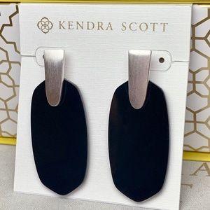 Kendra Scott Silver Opaque Aragon